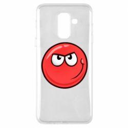 Чехол для Samsung A6+ 2018 Red Ball game