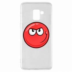 Чохол для Samsung A8+ 2018 Red Ball game