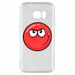 Чехол для Samsung S7 Red Ball game