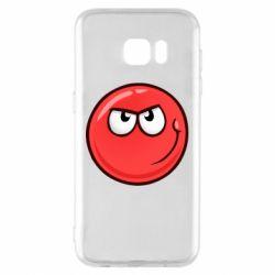 Чохол для Samsung S7 EDGE Red Ball game