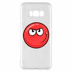 Чехол для Samsung S8 Red Ball game