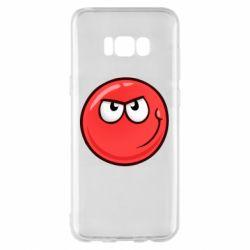 Чехол для Samsung S8+ Red Ball game