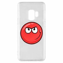 Чехол для Samsung S9 Red Ball game