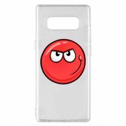 Чехол для Samsung Note 8 Red Ball game