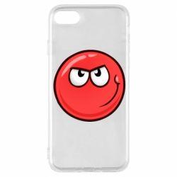 Чехол для iPhone 8 Red Ball game
