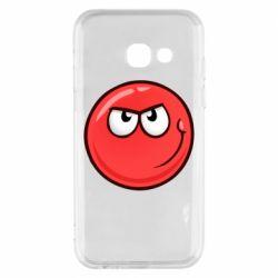 Чехол для Samsung A3 2017 Red Ball game