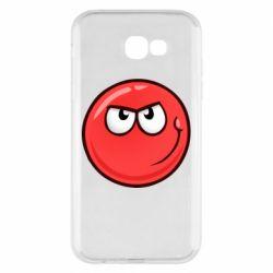 Чехол для Samsung A7 2017 Red Ball game