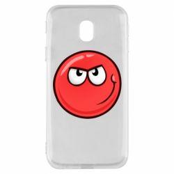 Чехол для Samsung J3 2017 Red Ball game