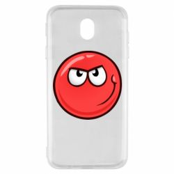 Чехол для Samsung J7 2017 Red Ball game