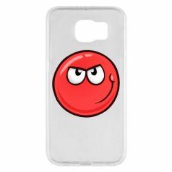 Чехол для Samsung S6 Red Ball game
