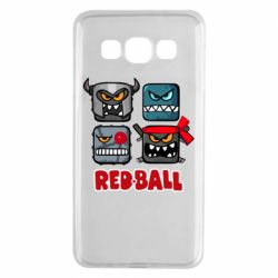 Чехол для Samsung A3 2015 Red ball heroes