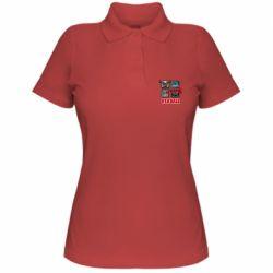 Жіноча футболка поло Red ball heroes