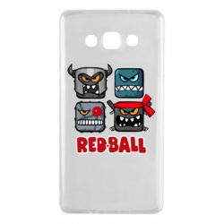 Чехол для Samsung A7 2015 Red ball heroes