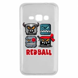 Чехол для Samsung J1 2016 Red ball heroes
