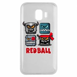 Чехол для Samsung J2 2018 Red ball heroes