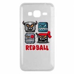 Чохол для Samsung J3 2016 Red ball heroes