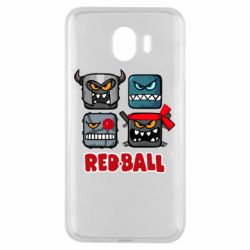 Чехол для Samsung J4 Red ball heroes