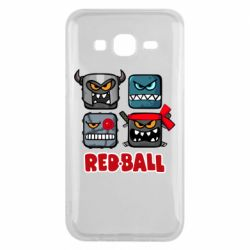 Чехол для Samsung J5 2015 Red ball heroes