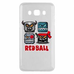Чохол для Samsung J5 2016 Red ball heroes