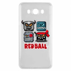 Чехол для Samsung J7 2016 Red ball heroes