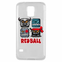 Чехол для Samsung S5 Red ball heroes