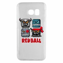 Чохол для Samsung S6 EDGE Red ball heroes