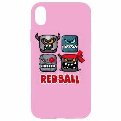 Чохол для iPhone XR Red ball heroes