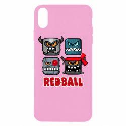 Чохол для iPhone Xs Max Red ball heroes
