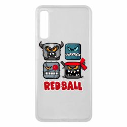 Чехол для Samsung A7 2018 Red ball heroes