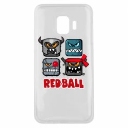 Чехол для Samsung J2 Core Red ball heroes