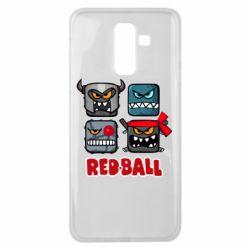 Чохол для Samsung J8 2018 Red ball heroes