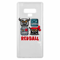 Чехол для Samsung Note 9 Red ball heroes