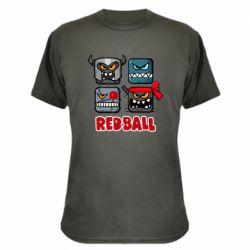 Камуфляжна футболка Red ball heroes