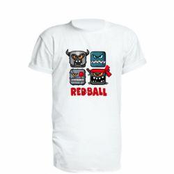 Подовжена футболка Red ball heroes
