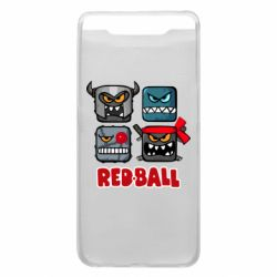 Чехол для Samsung A80 Red ball heroes