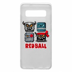 Чехол для Samsung S10 Red ball heroes