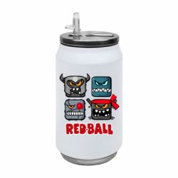 Термобанка 350ml Red ball heroes