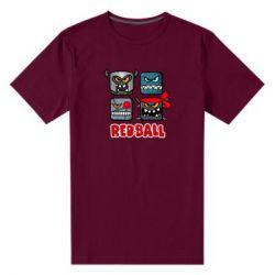 Чоловіча стрейчева футболка Red ball heroes