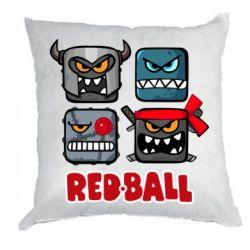 Подушка Red ball heroes