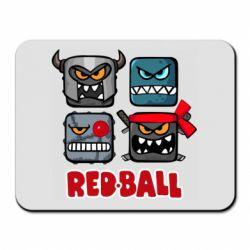 Килимок для миші Red ball heroes