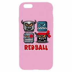 Чехол для iPhone 6/6S Red ball heroes