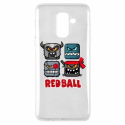 Чехол для Samsung A6+ 2018 Red ball heroes