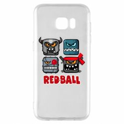 Чехол для Samsung S7 EDGE Red ball heroes