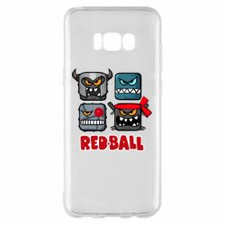 Чехол для Samsung S8+ Red ball heroes