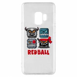 Чохол для Samsung S9 Red ball heroes