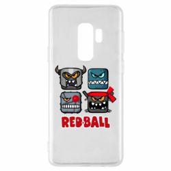 Чохол для Samsung S9+ Red ball heroes