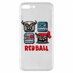 Чохол для iPhone 8 Plus Red ball heroes