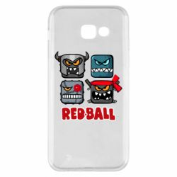 Чехол для Samsung A5 2017 Red ball heroes
