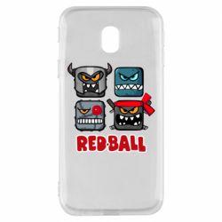 Чохол для Samsung J3 2017 Red ball heroes