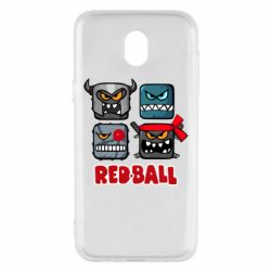 Чохол для Samsung J5 2017 Red ball heroes